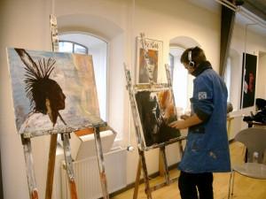 kreativ i maleri kreative kunst